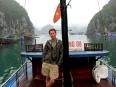 Leaving Cat Ba town towards Lan Ha Bay