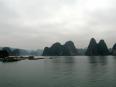 Floating fishing villages in Lan Ha Bay