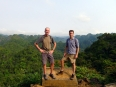 Atop the peak, with emerald jungle peaks all around us