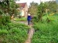 Farmer heading home to her village on Cat Ba Island.