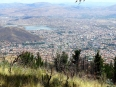 Rising above Cochabamba, the heat and the chaos were absent at this height
