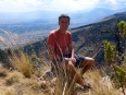 A fine resting point above the Cochabamba valley