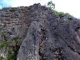 Puka Pukara is sturdily built right into the mountainside