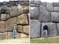 Then and now: Me at Saqsaywaman in 1999 and 2012
