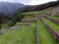 The perfectly formed terraces of Chinchero, now carefully restored