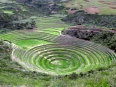 Mighty Moray: the graceful spherical terraces as seen from above