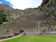 The stone terrace fortifications of Ollantaytambo, so formidable the Spaniards could not penetrate them