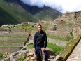 Standing above a restored section of Ollantaytambo, this was not available to tourists when I visited in 1999