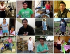 Some of the wonderful faces of Kiva borrowers I had the grand fortune to meet in Bolivia. Every visit was a gift.