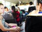 Sometimes I traveled to borrower visits on public buses... lots of them.