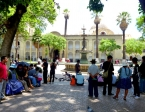 I often spent idle time people-watching at the Plaza 14 de Septiembre and reading lively left-wing commentary at the Panel de la Plaza posted for the public good. Cochabamba continues the proud tradition of rich plaza life with gusto.