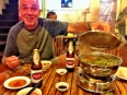 Paul's fave street food: hot pot in Saigon, Vietnam