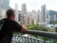 Views from the tai chi tower in Hong Kong Par