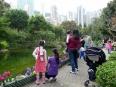 Children playing in Hong Kong Park