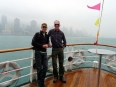 Crossing to Hong Kong Island on the Star Ferry
