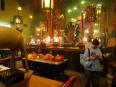 Incense and homage in the Man Mo Temple, Hong Kong