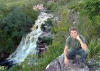 Above Poço do Diabo (Devil's Well) waterfall outside of Lençois town.