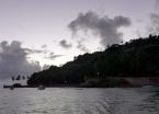 Early morning scene of Morro de São Paulo's main port