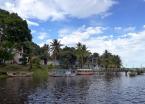 Sleepy fishing village on Tinharé Island