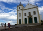 The historic church in Cairu on the southern end of the island, a garrison town founded by the Portuguese in their wars against the native peoples