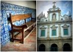 Distinctive Portuguese colonial churches abound near Morro de São Paulo