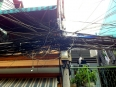Tangle of power lines in Vietnam