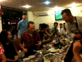 CouchSurfer meetup for the Ho Chi Minh City group, over 20 people showed up, locals and travelers alike.  It was great fun to meet people and taste the HCMC street food.