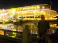 Dinner cruises enlighten the Saigon River at night