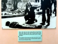 Photographic display of opposition to the war in the United States with the iconic Kent State massacre.
