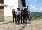 My affable horseman Luís who expertly guided me to the more remote San Agustín sites