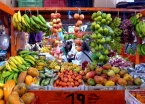 San Agustín's market day comes alive with colorful commerce