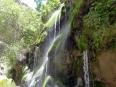 The beautiful cascade oasis, El Vergel, deep inside Toro Toro canyon