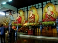 Giant Buddhas in the temple, truly larger than life!