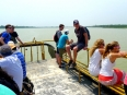 Boat trip down the Thu Bon River to Hoi An, returning from the My Son ruins
