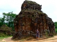 A temple of the ancient Cham city of My Son, sadly this was badly damaged by US bombs during the war