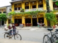 French villas adorn the sleepy streets of Hoi An old quarter