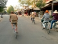 Cycle fever: flat Hoi An is perfect for an easy pedal to the beach