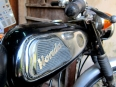 Circa 1960's Honda 10cc motorcycle, still running after all these years