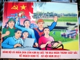 It's easy to forget Vietnam is a one-party communist country, but occasionally one finds the hammer-and-sickle on a billboard