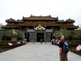 Entering the Citadel, the Imperial Enclosure of the Nguyen dynasty replete with impressive temples & tombs