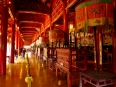 Inside the To Mieu Temple, a graceful tribute to the preceding emperors