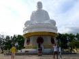 Magnificent Buddha overlooking Nha Trang, Vietnam