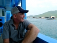 "Paul enjoying the views of the South China Sea during our ""Party Boat"" cruise off Nha Trang"