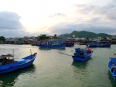 Picturesque harbor of Nha Trang, Vietnam