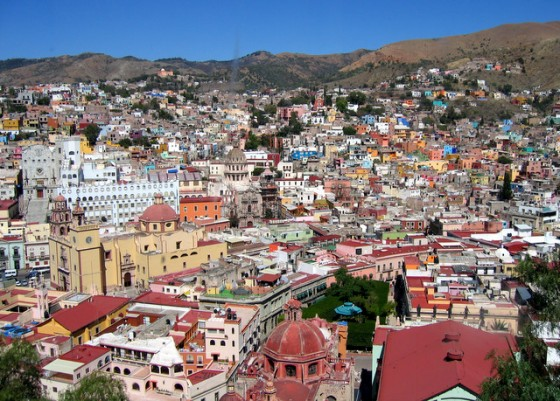 Guanajuato in fair weather