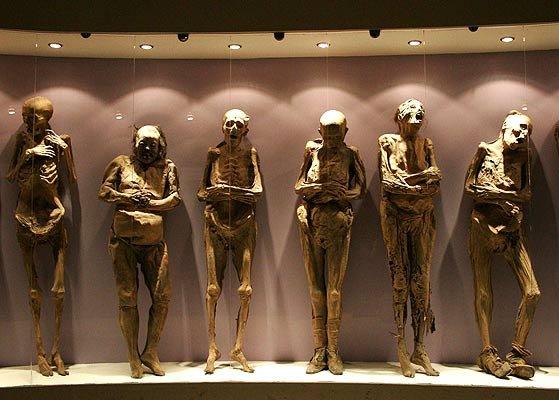 Museo de las Momias, Guanajuato, Mexico