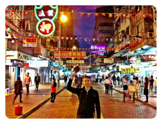 """Doing the """"Mary Tyler Moore"""" under Hong Kong's neon lights"""