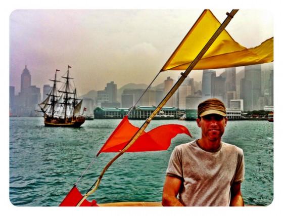 Crossing Hong Kong Harbor on Star Ferry Line