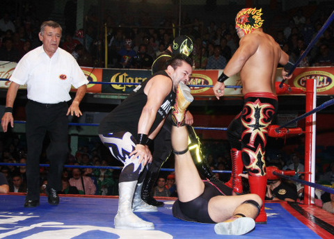 Lucha Libre dramatic moves