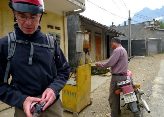 Fuel stop near Sapa, Vietnam
